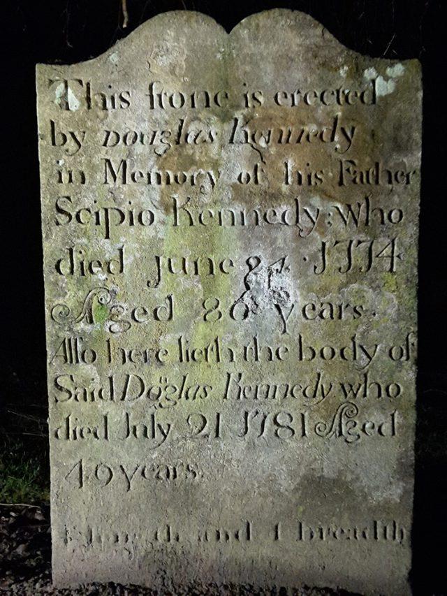 Scipio Kennedy Grave